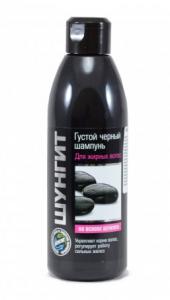 Fratti Špeciálny čierny šampón na mastné vlasy so šungitom