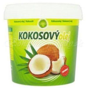 Kokosový olej Coco24, 1 liter Kokosový olej proti vypadávaniu vlasov