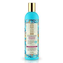 Natura siberica Rakytníkový šampón pre normálne a mastné vlasy  Strata vlasov  zabránili vypadávaniu vlasov