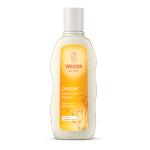 Ako si zjemniť vlasy Weleda Ovesný regeneračný šampón pre suché a poškodené vlasy